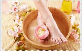 Травяные ванны, ванночки для ног с травами