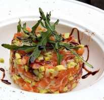Тар тар из семги с авокадо: тартар из лосося от Ивлева