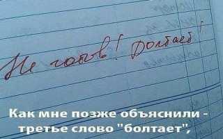 Смешные замечания в дневниках и тетрадях – привел бомжа на урок