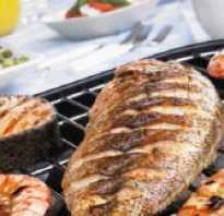 Рыба гриль в духовке рецепт