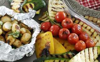 Баклажаны на углях: овощи гриль на решетке рецепт