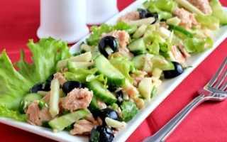 Салат из консервы тунец в масле