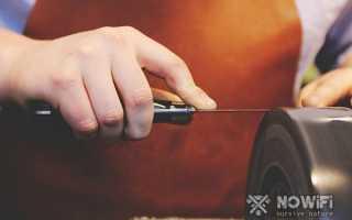 Как правильно точить ножи точилкой для ножей – как пользоваться точильным станком?