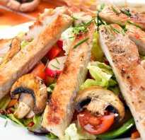 Салат с мясом индейки рецепт